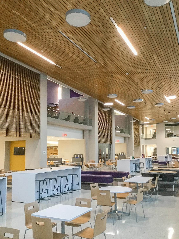 Ecu Main Campus Student Center Precision Walls Inc 2 Precision Walls Inc