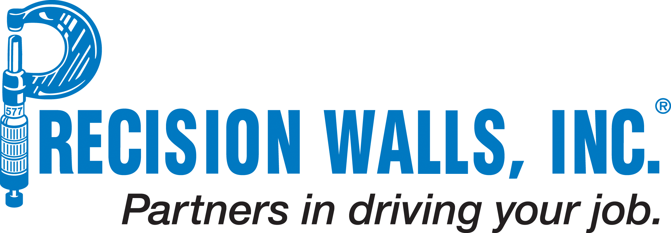 Precision Walls logo